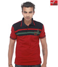 DXI Red Cotton T-Shirt