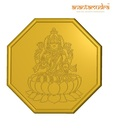 Anantamudra 8g 24 kt BIS Hallmarked Laxmi Gold Coin In 995 Purity