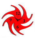 Panache Red Chakri Wall Clock
