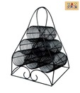 The Decoration Store Contemporary Iron Wine Rack