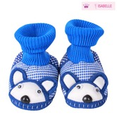 Isabelle Cute Blue Knitted Booties