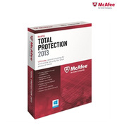 McAfee Total Protection 2013: 3 User