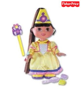 Fisher Price Dora Theexplorer Magical Hair Princess