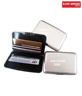 Aluma Smart Silver Hard Case Card Wallet