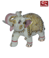 Craft N Craft Beautiful Marble Elephant