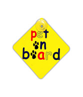HitPlay Pet on Board Bumper Sticker