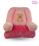 Soft Buddies Pink Baby Chair - 48 cm