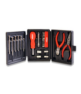 Rolson 26 Pc. Multi-purpose Tool Set With Plastic Case