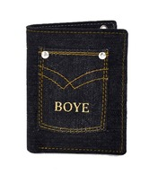 BOYE Black Long Wallet