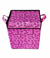 Home Candy Floral Storage Cum Laundry Bag