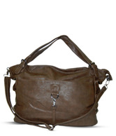 A-Progeny Elegant Brown Handbag