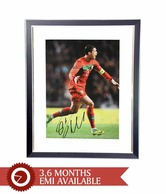 Cristiano Ronaldo Signed Portugal Print