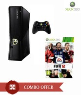 Microsoft Xbox 360(4GB) with FIFA 2012