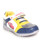 Disney Navy Blue & Yellow Casual Shoes
