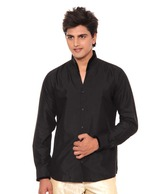 La Miliardo Elegant Black Shirt