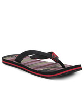 Puma Beach Ind Black & Red Slippers