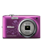 Nikon Coolpix S2700 16MP Point & Shoot Digital Camera (Decorative Purple)