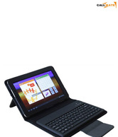 Callmate Bluetooth Keyboard Leather Case For Samsung Galaxy Tab with Free Screen Guard