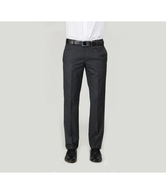 Arrow Black Formal Trousers