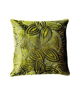 Ultra Snob Leaf Pattern Cushion Cover