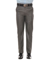 Harvest Grey Black Formal Trousers