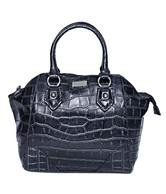 Lavie Enchanted - Black Croc Finish Handbag