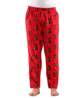 Tradha Red Printed Pyjama