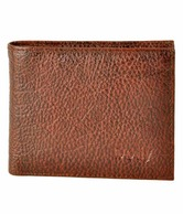 Dotty Dark Brown Rugged Formal Wallet