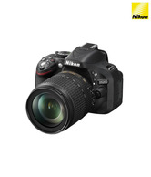 Nikon D5200 SLR (with AF-S 18-105 mm VR Kit Lens) (Black)