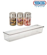 SG Wall Mounting Spice Rack With Jar Set