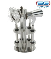 SG Stainless Steel Bar Tool Set