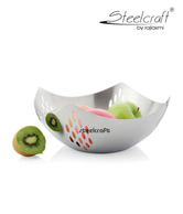 Steelcraft Stylish Perforated Big Fruit Bowl