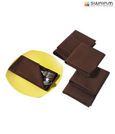 Swayam Brown Dinner Napkin Set