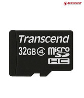 Transcend MicroSD Card 32GB Class 4