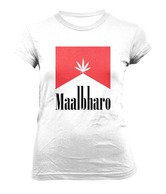 WYO White Maalbharo Cotton Tee