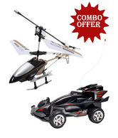 Flyer's Bay Digital Proportional Helicopter & Option-D Car Combo
