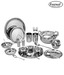 Everwel Stainless Steel Deluxe 25 Pcs Dinner Set