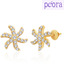 Peora Chic Starfish Design Earrings