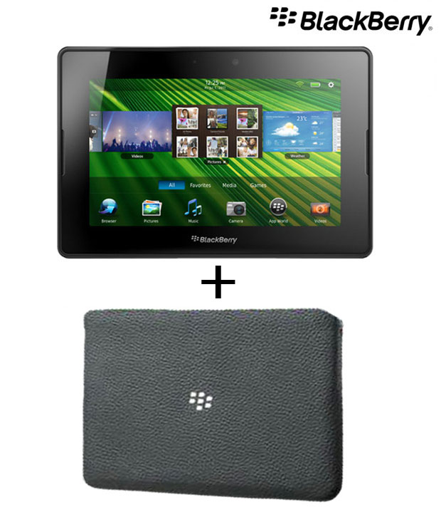 Blackberry Playbook Wi-Fi 16GB With Cover