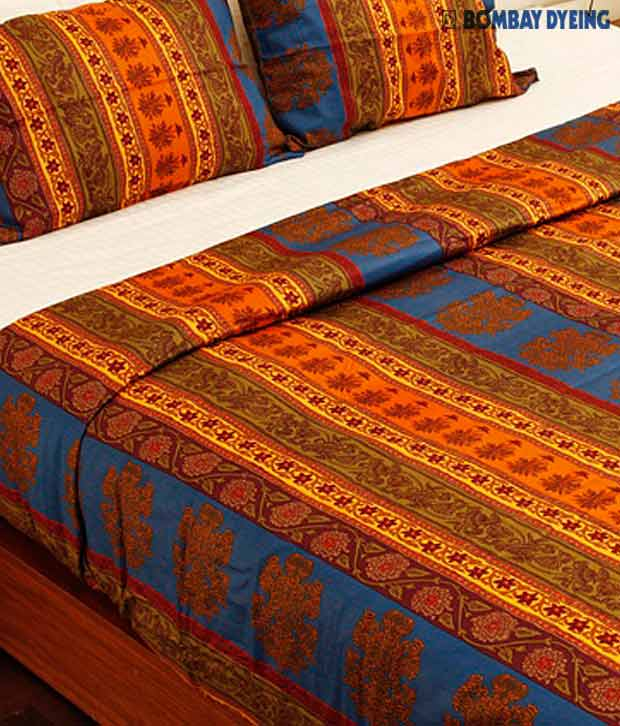 Bombay Dyeing Celebrating India Bed Linen With 2 Pillow Covers
