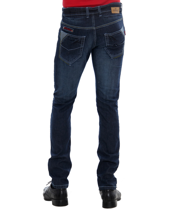 Fungus Dark Blue Denims-FSTR-08D-DARKBLUE