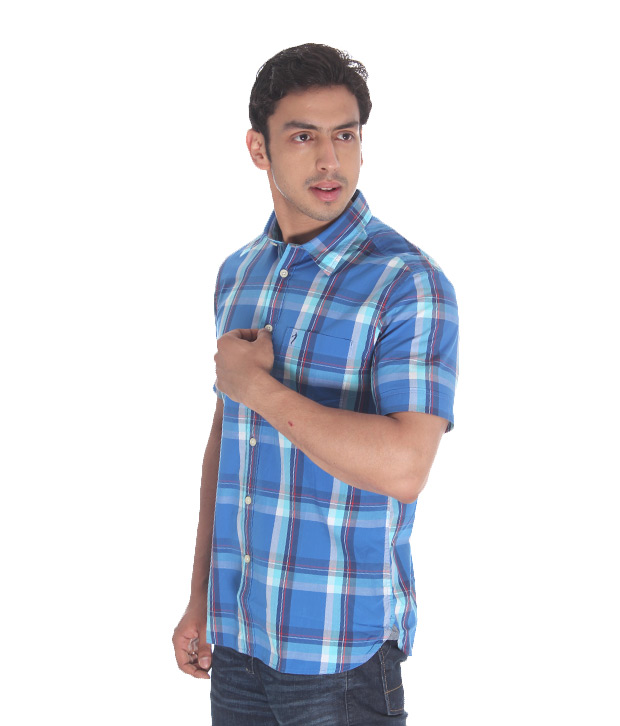 Indian Terrain Cool Blue Shirt
