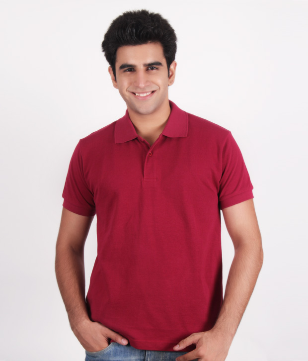 Kera Classic Maroon Polo T-Shirt