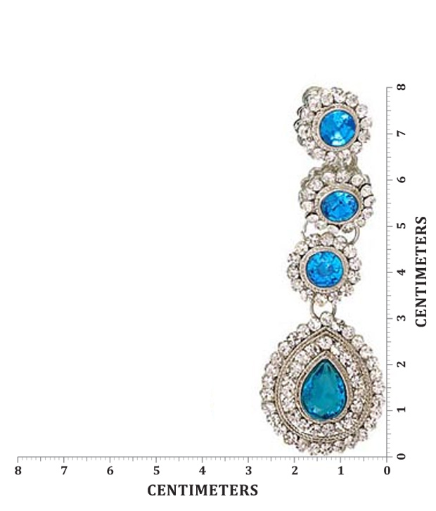 Kriaa Designer Blue Necklace Set