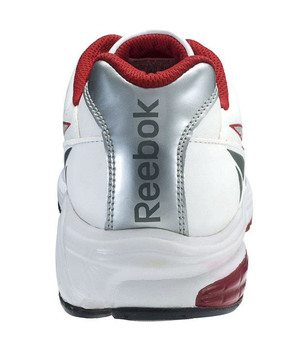 Reebok Royal White & Grey Running Shoes