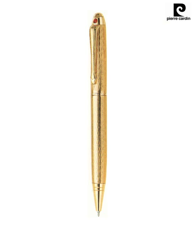 Pierre Cardin Regent Bright Gold Ball Pen