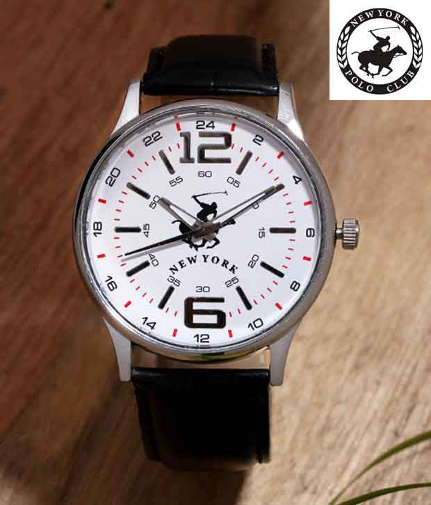 NYPC Urbane & Stylish White Dial Watch