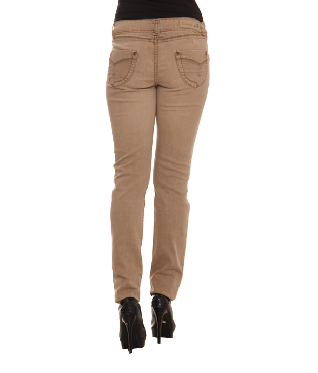 X-Blues Light Khaki Denims- 105LKHAKI