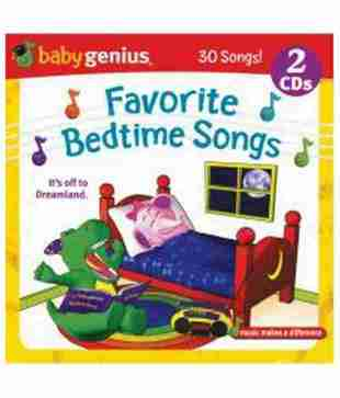 Baby Genius Favourite Bedtime Songs 2 CD pack