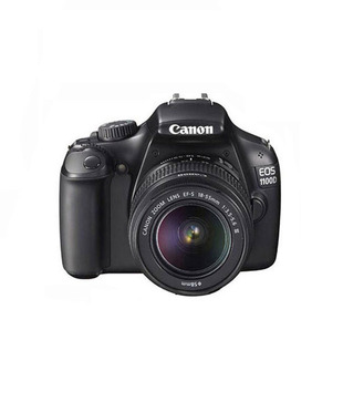 Canon EOS 1100D with kit (EF-S 18-55mm ISII) (Black)